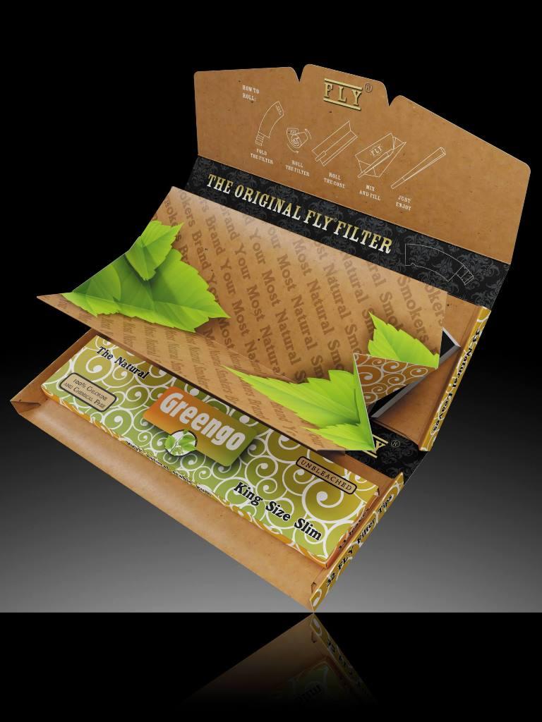 Greengo/Fly Tray Set Black Silk